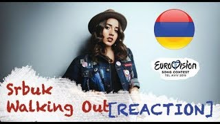 |Eurovision 2019| Armenia [REACTION] - Srbuk / Walking Out -