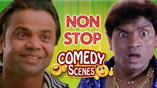 Non Stop Comedy Scenes - Paresh Rawal - Rajpal Yadav - Johny Lever - Akshay Kumar -
