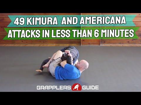 49 Kimura and Americana Attacks in Less Than 6 Min - Jason Scully BJJ Grappling