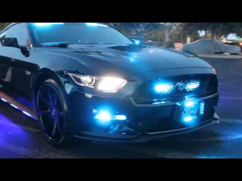 The HG2 Dark Avenger 2016 Ford Mustang GT Police Lighti