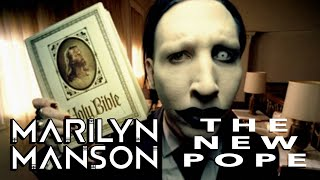 MARILYN MANSON in HBO'S THE NEW POPE, ANTICHRIST VISITS THE VATICAN