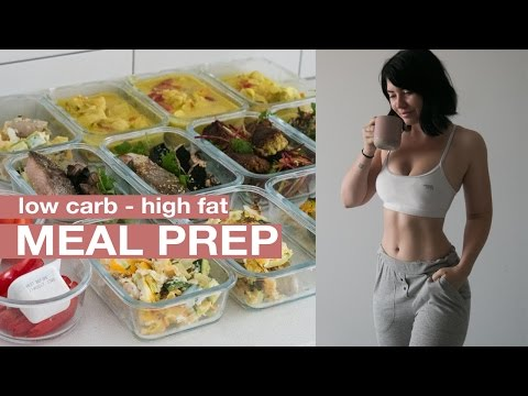 MEAL PREP WITH ME: Low carb for keto! Mains + Snacks + Breakfast