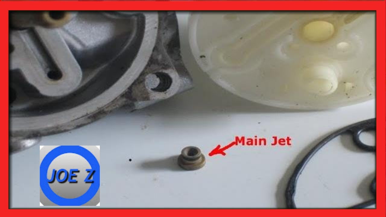 I Show You Where The Main Jet For Nikki Carburetor Goes Along With A Few Other Tips