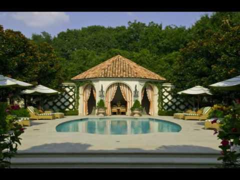 French NeoClassical Garden Lambert Landscape Company