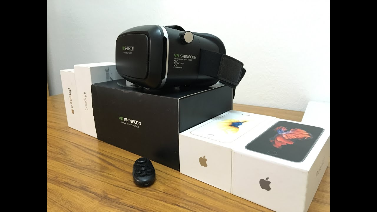 virtual reality iphone reality for iphone vr shinecon unboxing and 13248