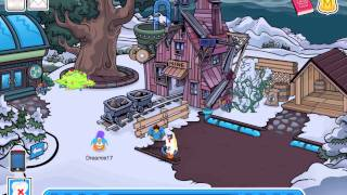 Club Penguin - Halloween Party Ghost Scavenger Hunt & Free Item 2011