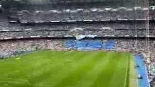 Real Madrid-Mallorca 2006-2007 Tifo Ultras Sur