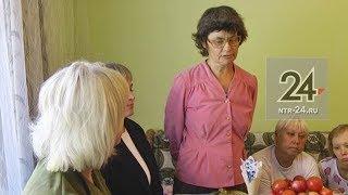 В Нижнекамске соседи поздравили женщину, которую спасли от депрессии