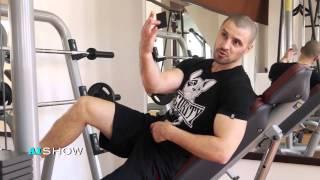 Reportaj AISHOW: Pavel Stratan în sala de forţă