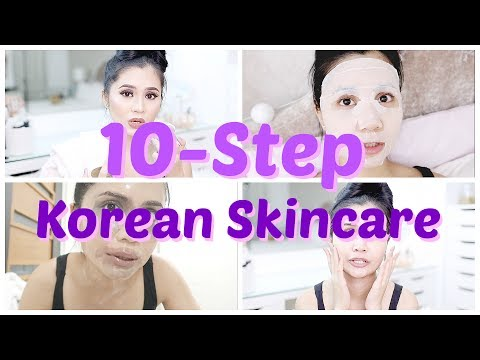 LET'S TRY: 10-STEP KOREAN SKINCARE | Anna Cay ♥