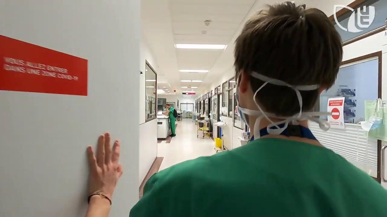 Les Cliniques universitaires Saint-Luc face au COVID-19