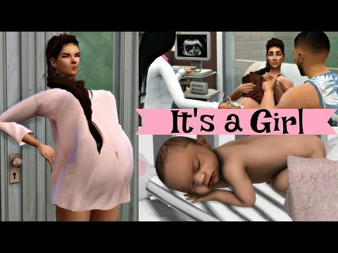 pregnant-sims-routine-&-birth-l-sims-4