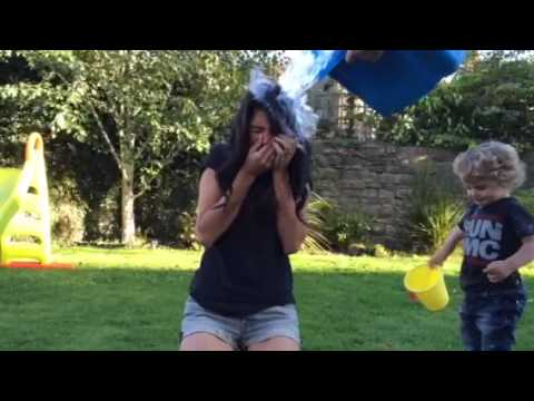 Natalie's and accidentally Freddie's Ice Bucket Challenge