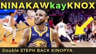 Steph Curry NINAKAW ang DOUBLE STEP BACK ni KEVIN KNOX!
