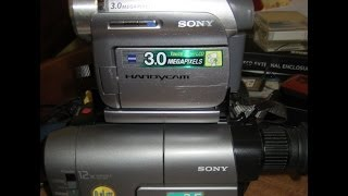 Convert Old tapes to Digital with a Mini DV camcorder