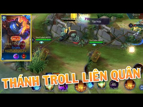 Mèo Thần Tài Thánh Troll Game Grakk Khiến Team Bạn Ức Chế X9999