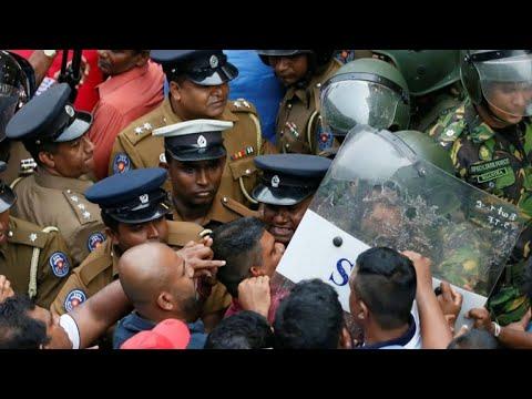 Political crisis triggers violence in Sri Lanka