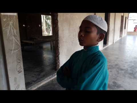 ঐ খুঁটিহীন নীল আকাশ ভূবন মাঝে - Bangla Islamic song ।।  Alamdulillah I'm a Muslim