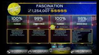 Rock Band 3 Fascination by Alphabeat Full Band Gold Stars w/ Vocals and Guitar FC