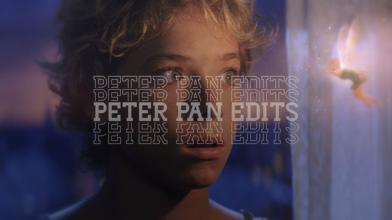 Peter Pan scene 2003 One kiss - YouTube