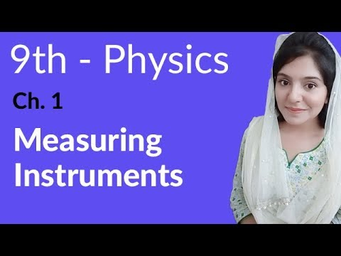 Matric part 1 Physics,Ch 1,Measuring Instruments Physics-9th class Urdu Lecture