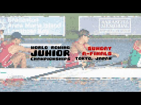 2019 World Rowing Junior Championships, Tokyo, Japan – A Final Sunday 11th August