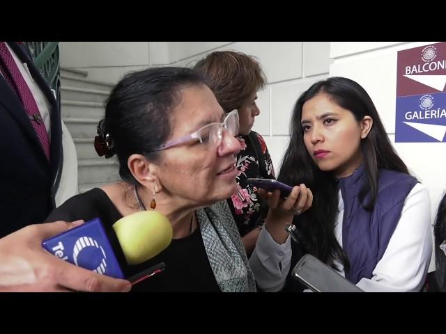 Entrevista a la Presidenta de CDHCM, Nashieli Ramírez, al finalizar la Mesa de Trabajo