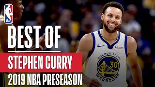 BEST OF STEPHEN CURRY From 2019 NBA Preseason