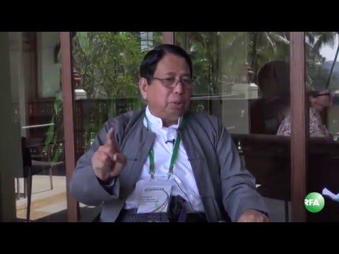 Writer Pe Myint on Myanmar Media Conference