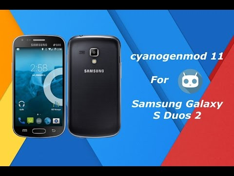 CM 11 for  S Duos 2(GT S7582) and Trend Plus(GT S7580)