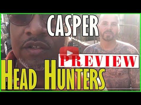 Casper from Varrio Head Hunters near downtown Los Angeles