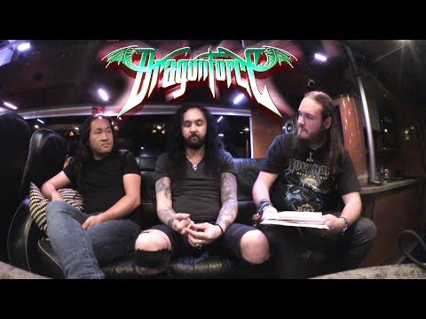 DRAGONFORCE - Reaching Into Infinity Interview | Silence Musik Magazin