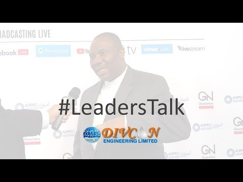 Leaders' Talk with Divcon Group's Managing Director, Andy Ikekhide