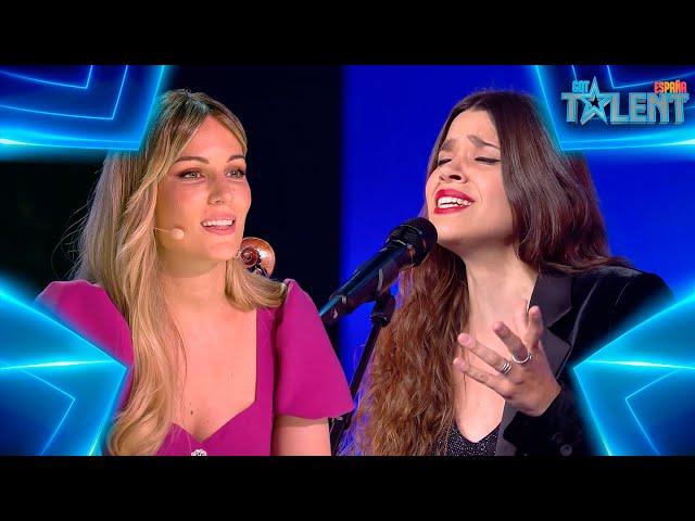 La MÁGICA actuación de «Piel Canela» de estas 3 MUJERES   Audiciones 3   Got Talent España 7 (2021)