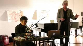 Tomomi Adachi and Jaap Blonk