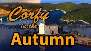 Corfu in the Autumn 4K