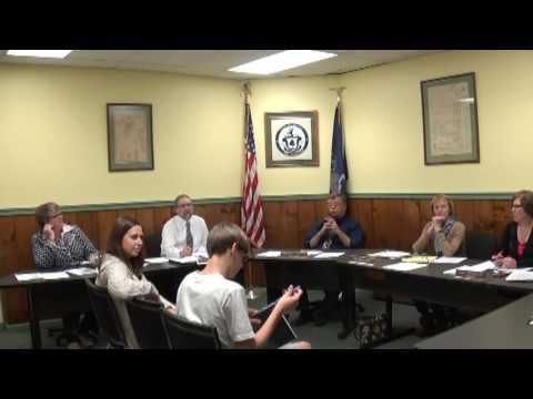 Champlain Village Board Meeting  11-14-16