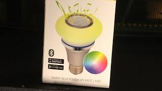 Action LWB : AudioSonic Bluetooth Speaker Led Smart Lamp E27 Fit 16 million colors Android IOS 2019
