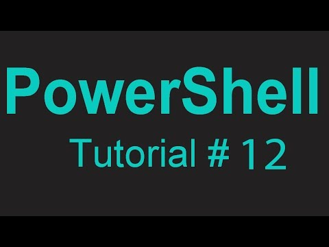 PowerShell 12 - How to create directories and subdirectories in PowerShell