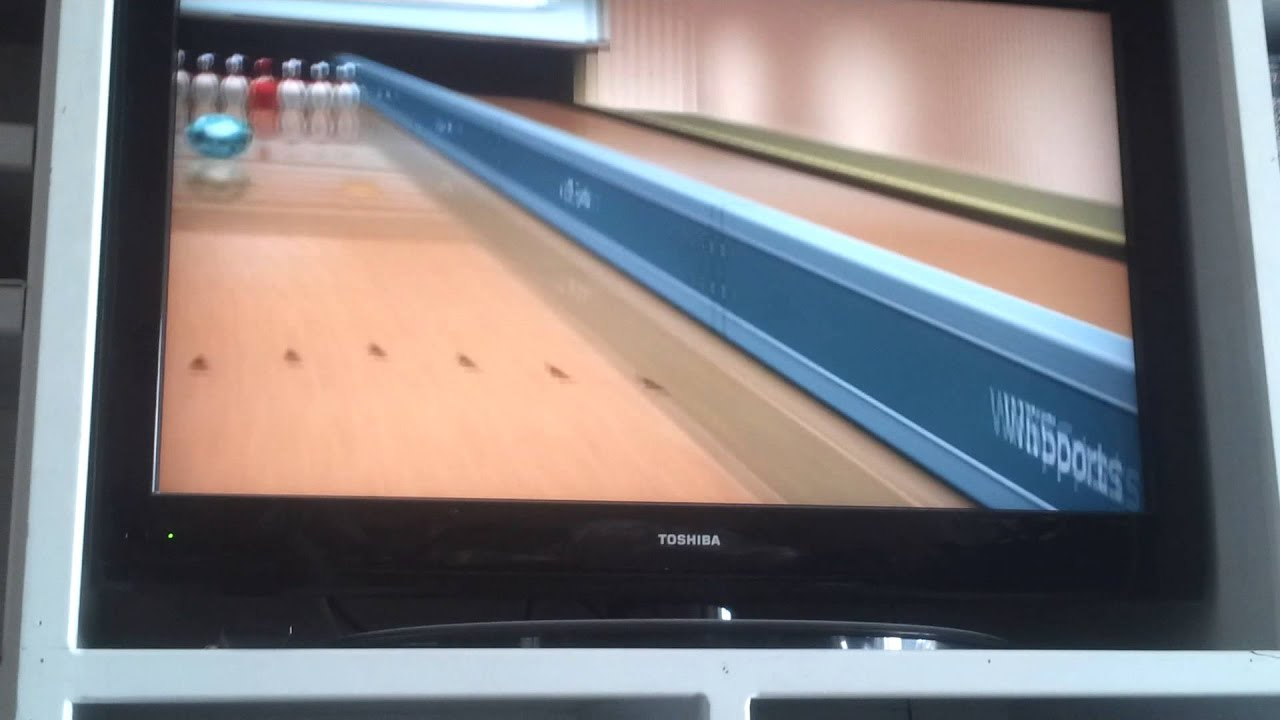 wii sports bumper bowling youtube