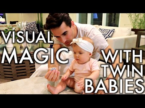 Magic With Twin Babies!!!