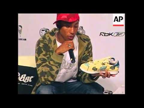Pharrell Williams Unveils New Clothing Line