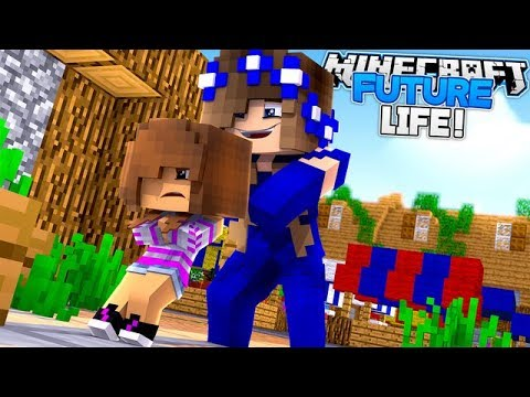 FUTURE LIFE #1-QUEEN CARLY'S NEW KINGDOM!! w/Little Carly (Minecraft Roleplay)