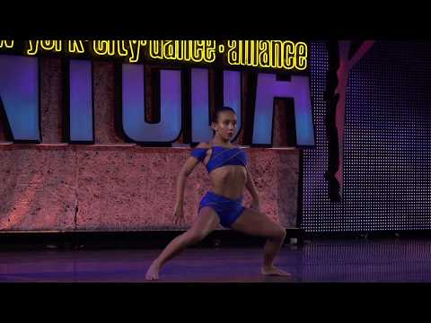 "Charlee Fagan performs her solo ""ASHT"" @ New York City Dance Alliance"