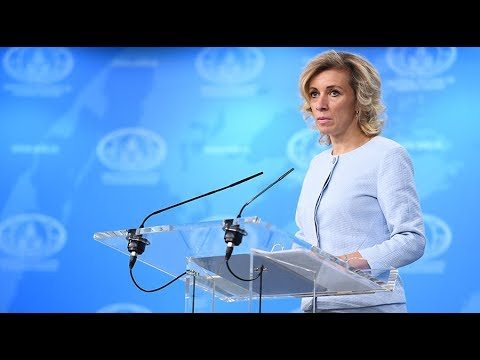 LIVE: Russian FM spokesperson Zakharova holds weekly briefing in Moscow