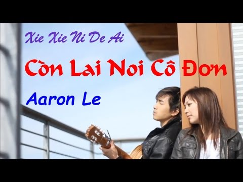 Con Lai Noi Co Don / Xie Xie Ni De Ai 谢谢你的爱 - Aaron Le [MV HD] + Lyric