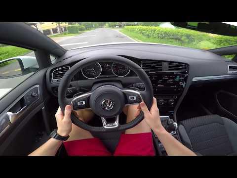 Volkswagen Golf R-Line 1.4 TSI DSG (110 kW) 2018 - POV driving (city, highway, district road)