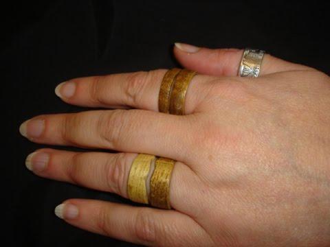 Holz Fingerring Ring Selber Bauen Youtube