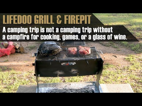 The Lifedoo Urod Firepit and Camp Stove