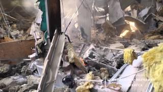 Обстрел жд вокзала в Донецке